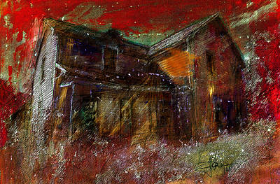 Mixed Media - Abandoned 1 by Jim Vance
