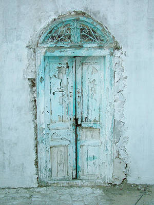 Sidi Bou Said Photograph - Abandoned Doorway by Donna Corless