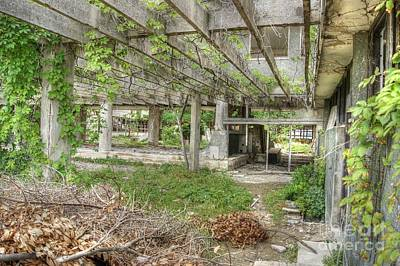 Photograph - Abandoned Places 16 by David Birchall