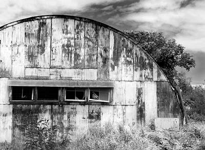 Photograph - Abandoned Ww2 Quonset Hut by John Orsbun