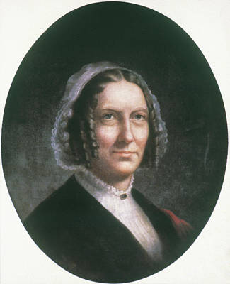 Abigail Painting - Abigail Fillmore (1798-1853) by Granger