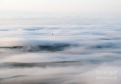 Above The Clouds Art Print by Mike  Dawson