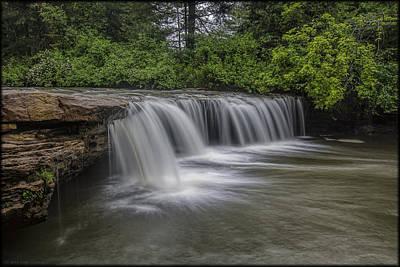 Photograph - Abraham Falls by Erika Fawcett