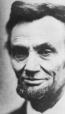 Honest Photograph - Abraham Lincoln by Anonymous