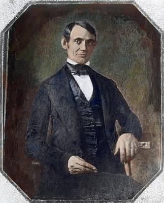 Abraham Lincoln(1809-1865) Art Print