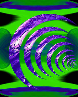 Abstraction Digital Art - Abstract 123 by J D Owen