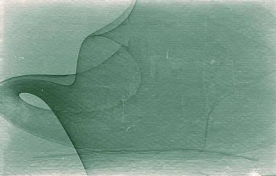 Spiritual Art Digital Art - Open Mind - Abstract Fractal Textured Collage by Modern Art Prints