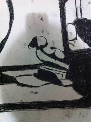 Drawing - Abstract Drawing by Khoa Luu