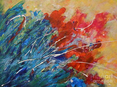 Painting - Abstract by Ellen Anthony