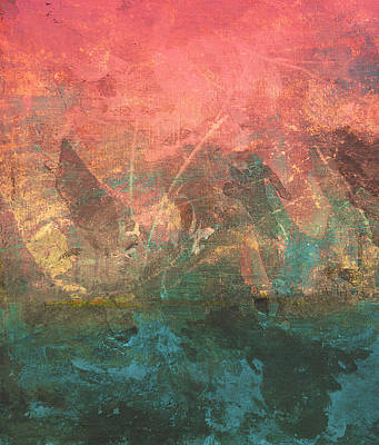 Sun Rays Digital Art - Abstract Print 2 by Filippo B