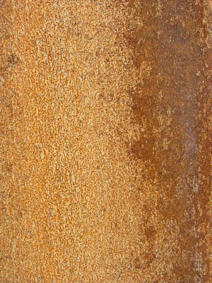 Photograph - Abstract Rust 2 by Anita Burgermeister