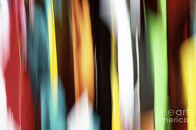 Colors Photograph - Abstract by Tony Cordoza
