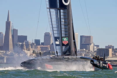 Photograph - Americas Cup 2013  Oracle by Steven Lapkin