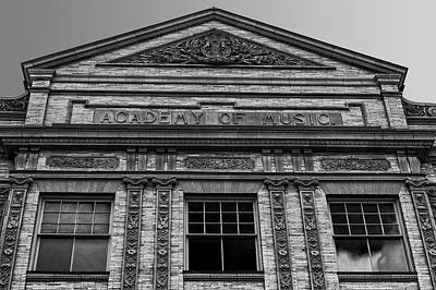 Photograph - Academy Of Music Nothampton Massachusetts by Phil Cardamone