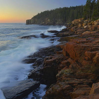 Photograph - Acadia Dawn by Stephen  Vecchiotti