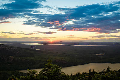 Acadia National Park Sunset  Art Print