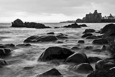 Photograph - Acicastello by Alfio Finocchiaro
