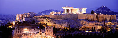 Parthenon Photograph - Acropolis, Athens, Greece by Panoramic Images