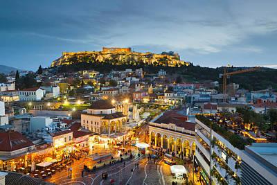 Monastiraki Photograph - Acropolis by Milan Gonda