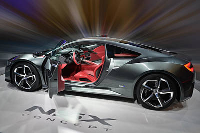 Photograph - Acura N S X Concept  by Dragan Kudjerski