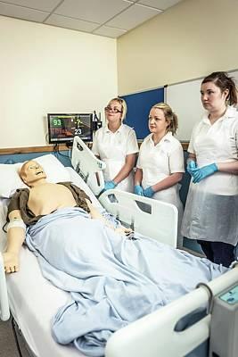 Acute Care And Resuscitation Training Art Print