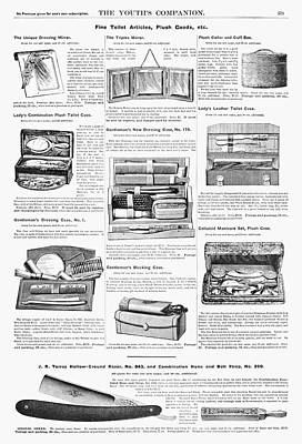 Ad Toiletries, 1890 Art Print by Granger
