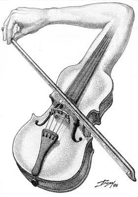 Drawing - Adagio by Boyan Donev