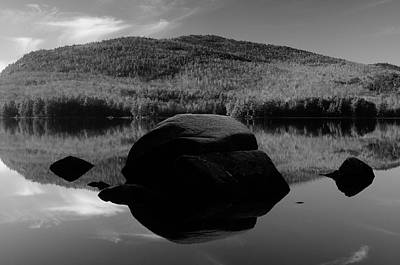 Photograph - Pharoah Lake Reflections by Bob Grabowski