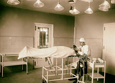 Administering Anesthesia 1922  Print by Mountain Dreams