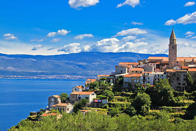 Photograph - Adriatic Town Of Vrbnik Island Of Krk by Brch Photography