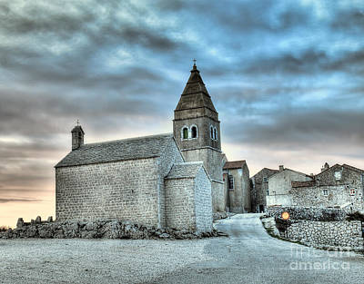 Thomas Kinkade Royalty Free Images - Adriatic Village Royalty-Free Image by Sinisa Botas