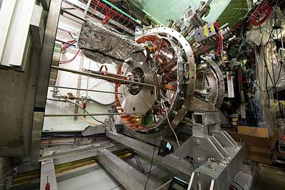 Aegis Experiment At Cern Art Print by Cern/science Photo Library