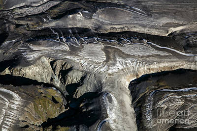 Photograph - Aerial Photography Of Iceland by Gunnar Orn Arnason