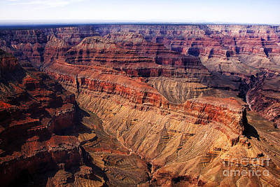 Aerial View Grand Canyon Art Print by Thomas R Fletcher