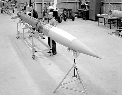 Manned Space Flight Photograph - Aerobee Sounding Rocket by Nasa/glenn Research Center
