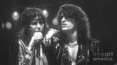 Steven Tyler Photograph - Aerosmith by David Plastik