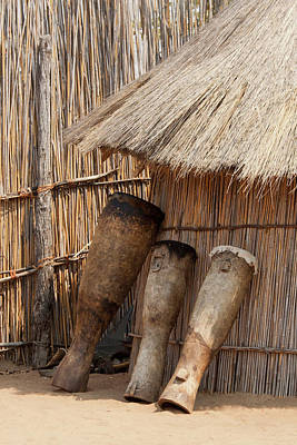 Bushman Photograph - Africa, Namibia, Caprivi Strip by Jaynes Gallery