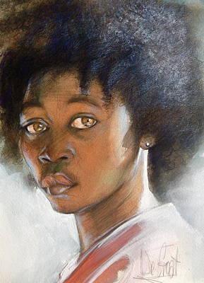 African American Boy Art Print