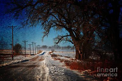 Snow Drifts Digital Art - After The Snow Storm by Robert Carner