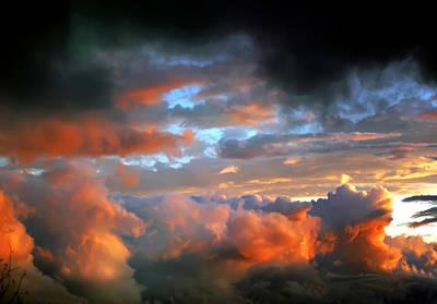 Photograph - After Tornado Skyscape by Alex Grichenko