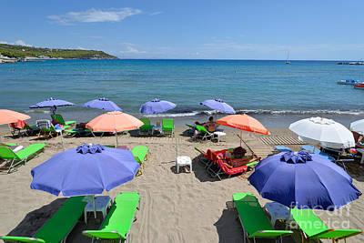 Photograph - Agia Marina Beach by George Atsametakis