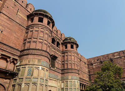 Photograph - Agra Fort In India by Brandon Bourdages