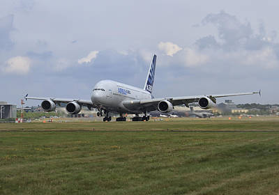 Photograph - Airbus A380 by Shirley Mitchell