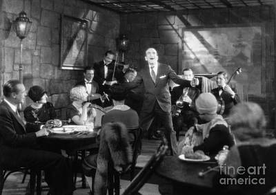 Photograph - Al Jolson (1886-1950) by Granger