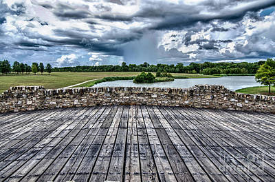 Photograph - Alabama Shakespeare Festival Bridge by Danny Hooks