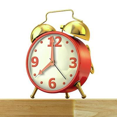Alarm Clock Photograph - Alarm Clock by Leonello Calvetti