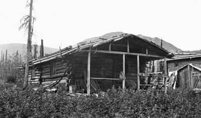 Photograph - Alaska Log Cabin, C1916 by Granger