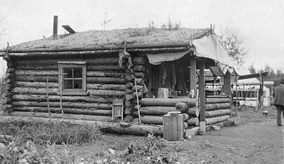 Photograph - Alaska Log Cabin by Granger