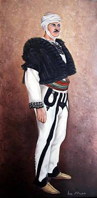 Anne Geddes Florals - Albanian provinces dress by Adrian Muka