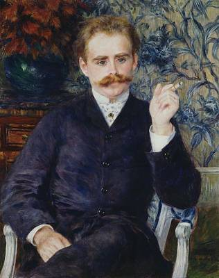 Painting - Albert Cahen D Anvers by Pierre Auguste Renoir